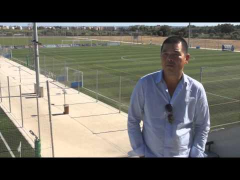 Informative video about CE Futbol Salou sport complex. Spain