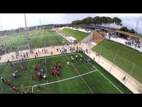 CE Futbol Salou. Aerial shots / Vistas aéreas / Vistes aèries